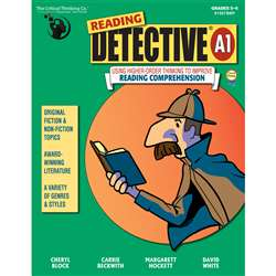 Reading Detective Book A Grade 5-6 By Critical Thinking Press
