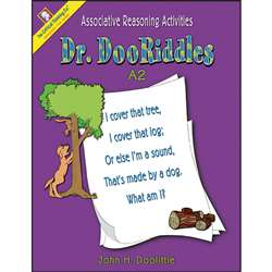 Dr. Dooriddles Book A2 Gr Pk-2 By Critical Thinking Press