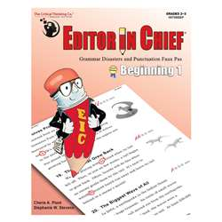 "Editor "" Chief Beginning 1, CTB9708"