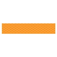 Orange Fancy Scallops Borders Paint, CTP0189