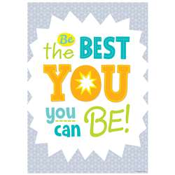 Be The Best You Inspire U Poster Paint, CTP0312