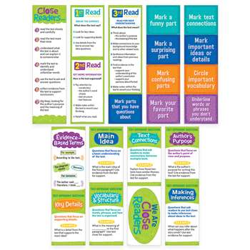 Close Reading Mini Bulletin Board Set, CTP0608