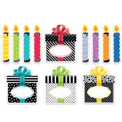 "6"" Bold Bright Birthday Cut Outs Designer, CTP0636"