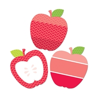 "Poppy Red Apples 10"" Designer Cut Outs - Paint, CTP0653"