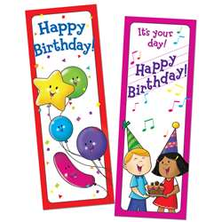 Bookmarks Happy Birthday 30/Pk By Creative Teaching Press