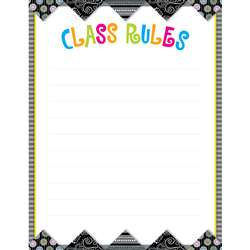 Bw Collection Rules Chart By Creative Teaching Press