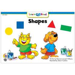 Shapes Cat And Dog Learn To Read, CTP10100
