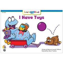 I Have Toys Monsters Learn To Read, CTP10101