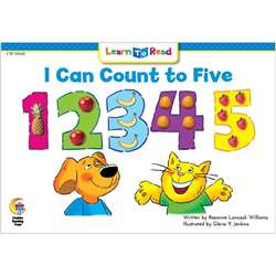 I Can Count To Five Cat And Dog Learn To Read, CTP10102