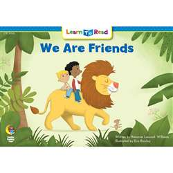 We Are Friends Learn To Read, CTP10105