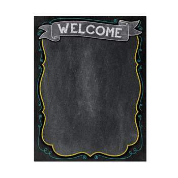 Welcome Chart - Chalk, CTP1018