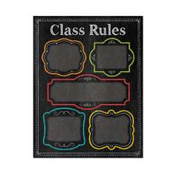 Class Rules Chart - Chalk, CTP1020