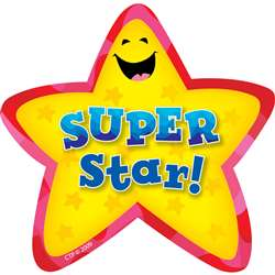 Star Badges Super Star 36/Pk By Creative Teaching Press