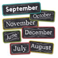 Chalk It Up Months Of The Year Head Lines, CTP1134