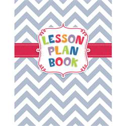 Chevron Lesson Plan Book, CTP1262