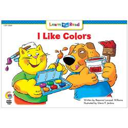 I Like Colors Learn To Read, CTP13160