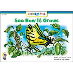 See How It Grows Learn To Read, CTP13503