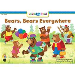 Bears Bears Everywhere Learn Toread, CTP13646