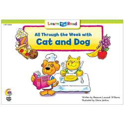 All Through The Week W Cat And Dog Learn To Read, CTP13650