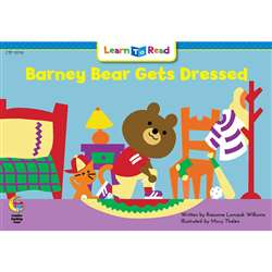 Barney Bear Gets Dressed Learn To Read, CTP13710