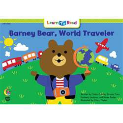 Barney Bear World Traveler Learn To Read, CTP13901