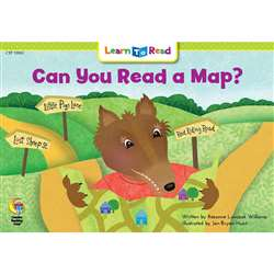 Can You Read A Map Learn To Read, CTP13903