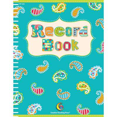 Dot Record Book By Creative Teaching Press