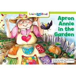 "Apron Annie "" The Garden Learn To Read, CTP14149"