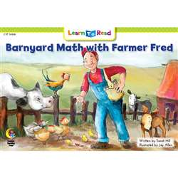 Barnyard Math W Farmer Fred Learn To Read, CTP14466