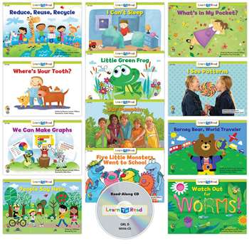 Learn To Read Variety Pack 6 Cd Lvl D, CTP18063