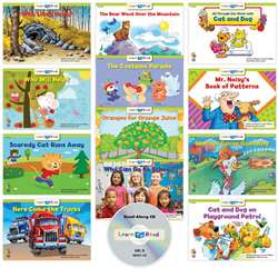 Learn To Read Variety Pack 7 Cd Lvl D, CTP18064