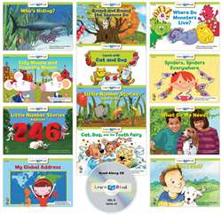 Learn To Read Variety Pack 8 Cd Lvl D, CTP18065