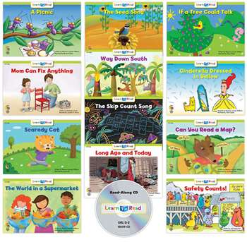 Learn To Read Variety Pack 9 Cd Lvl De, CTP18066