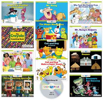 Learn To Read Variety Pack 10 Cd Lvl E, CTP18067