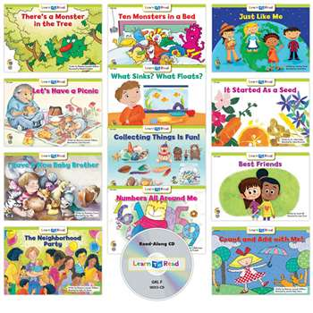 Learn To Read Variety Pack 13 Cd Lvl F, CTP18070