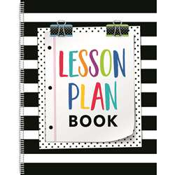Bold And Bright Lesson Plan Book, CTP2092