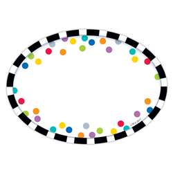 Bold Bright Stripes/Dots Labels, CTP2097