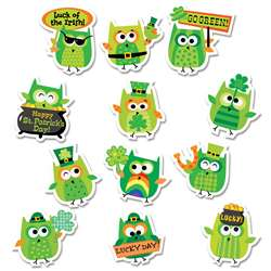 St Patricks Day Owls Reward Stickers, CTP2109