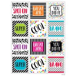 Bold And Bright Rewards Stickers, CTP2160
