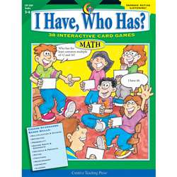 Math Gr 56 I Have Who Has Series Eries By Creative Teaching Press