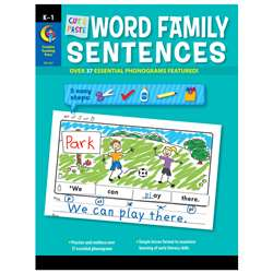 Cut & Paste Word Family Sentences, CTP2217