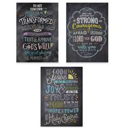 Bible Verse Posters -Rejoice Inspire 3 pack