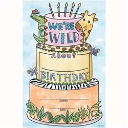 Safari Friends Happy Birthday Award, CTP2481