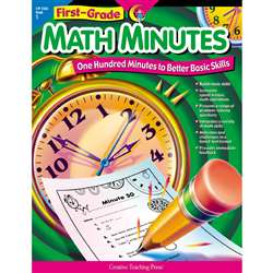 First-Grade Math Minutes By Creative Teaching Press