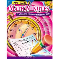 Third-Grade Math Minutes By Creative Teaching Press