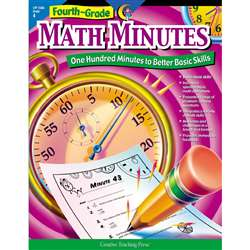 Fourth-Grade Math Minutes By Creative Teaching Press