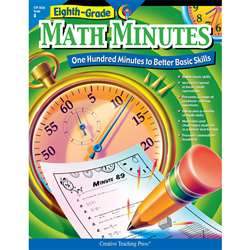 Math Minutes - 8Th Grade By Creative Teaching Press