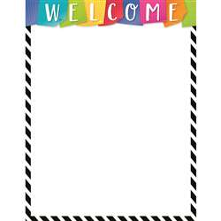 Bold Bright Welcome Chart, CTP2846