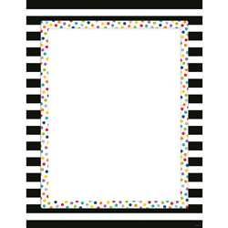 Bold And Bright Blank Chart, CTP2850