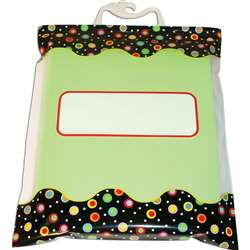 Dots On Black Storage Bag By Creative Teaching Press